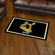 Pittsburgh Steelers Retro 3and039 X 5and039 Decorative Ultra Plush Carpet Area Rug
