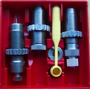 Lee 6.8 Remington Spc 3 Die Set With Factory Crimp Die And Shell Holder 90427