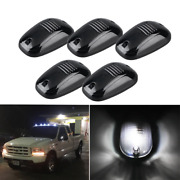 Smoked Lens Kit Rooftop Cab White Running Light Led Fits For Most Trucks Suv Tru