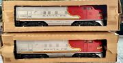 Original Lionel 2383 Santa Fe Units - Beautiful Condition Engines With Boxes