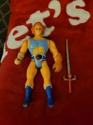 Vintage Thundercats Action Figure Lion O With Accessories