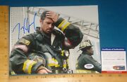 Psa Dna Certified Authentic Taylor Kinney Signed/autograph 8x10 Color Photo 2