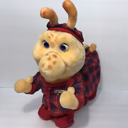 Vintage 1985 Teddy Ruxpin Grubby Plush Toy World Of Wonders Untested No Cord