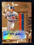 2004 Leather And And Lumber Paul Lo Duca Nickname Dukie Auto Autograph /10 Rare