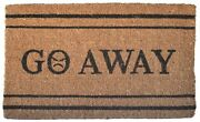 Imports Decor Coir Go Away Door Mat With Multicolor Finish 320bcm