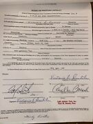 4/18/1980 Wrestling Program +14 Signed Contracts Tanaka Richter Atlaslewin