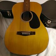 Tradition Acoustic Guitar Model Number Tg560nat With Case Great Condition