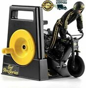 Pro Series Evel Knievel Limited Edition Stunt Cycle Bike Motorcycle Black Gold