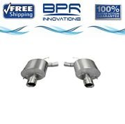 Corsa 304 Ss Axle-back Exhaust System Split Rear Exit For Cadillac 09-14 14940