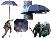 Slip System Blind/ Decoy/ Trekking Pole With Camo Or Decoy Slipcover-new In Box