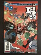 Teen Titans Go 44 First Printing 2008 Dc Comic Book Red Raven Attacks
