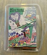 New Stampendous Flower Garden Rubber Stamping Ideas Ss108 Set Of 6 Rubber Stamp