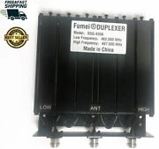 New Fumei Uhf 400-470mhz 50w Duplexer Radio Repeater Preseted Low Freque N Femal