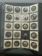173 Vintage Presidential Campaign Buttons Lot Mckinley Hoover Coolidge Wilson
