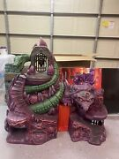 Super7 Masters Of The Universe Classics Snake Mountain Playset Motuc With Box