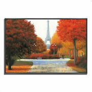 Tangletown Autumn In Paris Couple By James Wiens Wall Art 622139-4330p126