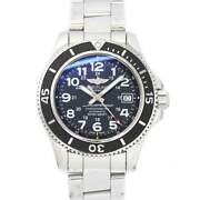 Breitling Superocean Ii A17365 Automatic Date Black Dial Mens Watch 90131845