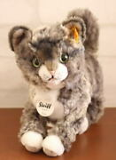Steiff German Kitty Cat Plushed Toy Shipped From Japan