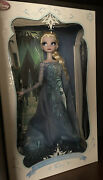 Disney Store Elsa Snow Queen Limited Edition 17 Doll Frozen Le Of 2500