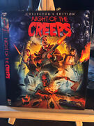 Oop Slipcover Only Night Of The Creeps Slip 2 Scream Factory No Movie