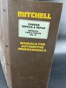 Mitchell Manuals Chassis Service And Repair Imported Cars And Trucks 1978-1983