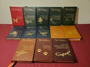 13 Volumes Roger Tory Peterson Field Guides Easton Press Leather Plants Birds