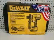 Dewalt 20 Volt 1/2 In. Brushless Cordless Drill Kit Battery And Charger