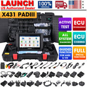 Launch X431 Pad3 Iii V2.0 Pro+ Car Obd2 Diagnostic Auto Scanner All System Tpms