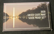 2020-s United States Mint Silver Proof Coin Set W/ Coa 2020 West Point Nickel