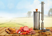 Cold Smoke Generator For Bbq Smoker Grill Stainless Steel W Air Pump Hanhi 2 10l