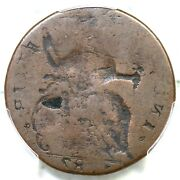 1787 -gg.1 Pcgs G 6 Reverse Brockage Connecticut Colonial Copper Coin