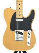 Fender Mexico Player Telecaster Used 2018 Player Series Orizinal Pu W/soft Case