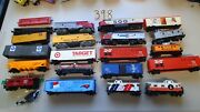 Bachmanntyco Life Like Ho Scale Train Parts Lot Enginescabooses Boxcars