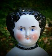 Antique China Head Doll With Cloth Body 19