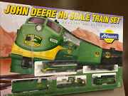 1999 Athearn John Deere Authentic Ho Scale Ho Train Set Brand New In Sealed Box