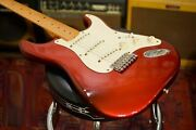 Fender Usa 1999 American Vintage And03957 Stratocaster Candy Apple Red Used/hard Case