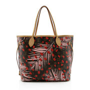 Louis Vuitton Limited Edition Monogram Canvas Jungle Dots Neverfull Mm Tote