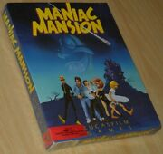 Maniac Mansion Lust Apple Ii Big Boxed New/sealed Collectible English
