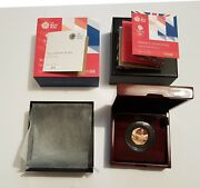2016 Team Gb Uk Gold Proof 50p Coin - Rare - Complete Set With Box And Coa - Fdc