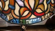 Style Stained Slag Glass Vintage Lamp Shades