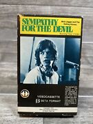 Sympathy For The Devil Vhs Rolling Stones 1970 Magnetic Video Good Rock N Roll
