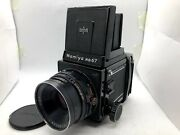 【 Exc+5 】 Mamiya Rb67 Pro S + Sekor C 127mm F3.8 + 120 Film Back From Japan