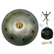 New Stable Sound 10 Notes Professional Percussion Hand Pan Handpan Drum Handmade