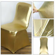 1-150 Spandex Wedding Dining Room Chair Covers Slip Seat Cover Stretch Removable