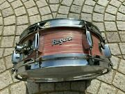Rogers 60's Holiday Model Wine Red Ripple Pearl Used Snare Drum