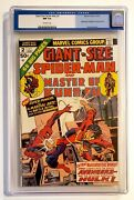 Giant Size Spider-man 2 Cgc 9.4 1974 1st Shang Chi Master Of Kung Fu Crossover