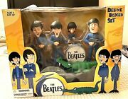 The Beatles Cartoon Animated Deluxe Box Set Mcfarlane Toys New In Box