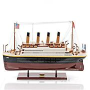 Handcrafted Titanic Painted Large Model Ship