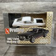 Amt Pro Shop 1967 Ford Mustang Gt Plastic Model Kit 31950 1/25 New Open Box