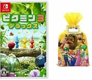 Pikmin 3 Deluxe -switch + Gift Wrapping Kit Swich-video Geme-japan